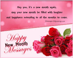 Happy New Month Message For Parents