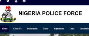 Nigeria Poilice Force Recruitment
