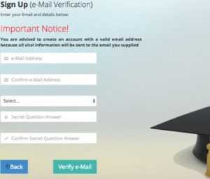 Verifying JAMB Email