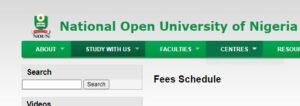 NOUN School Fees